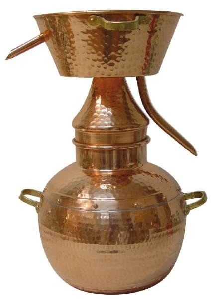 """CopperGarden®"" Destille Alquitara 5L, traditionell"